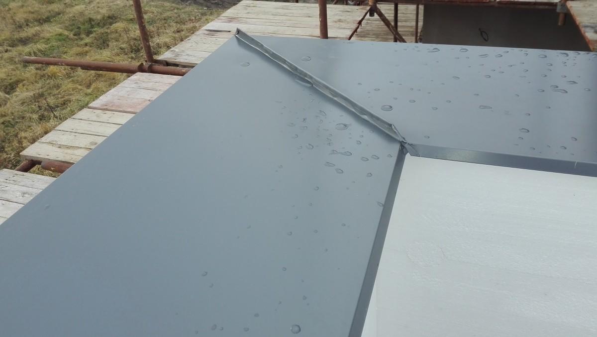 Oplechování ploché střechy