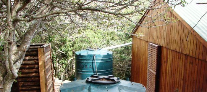 Připojená nádrž na dešťovou vodu